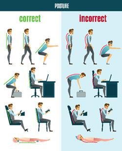 Brisbane North side Chiropractor Tips Good Posture Tips