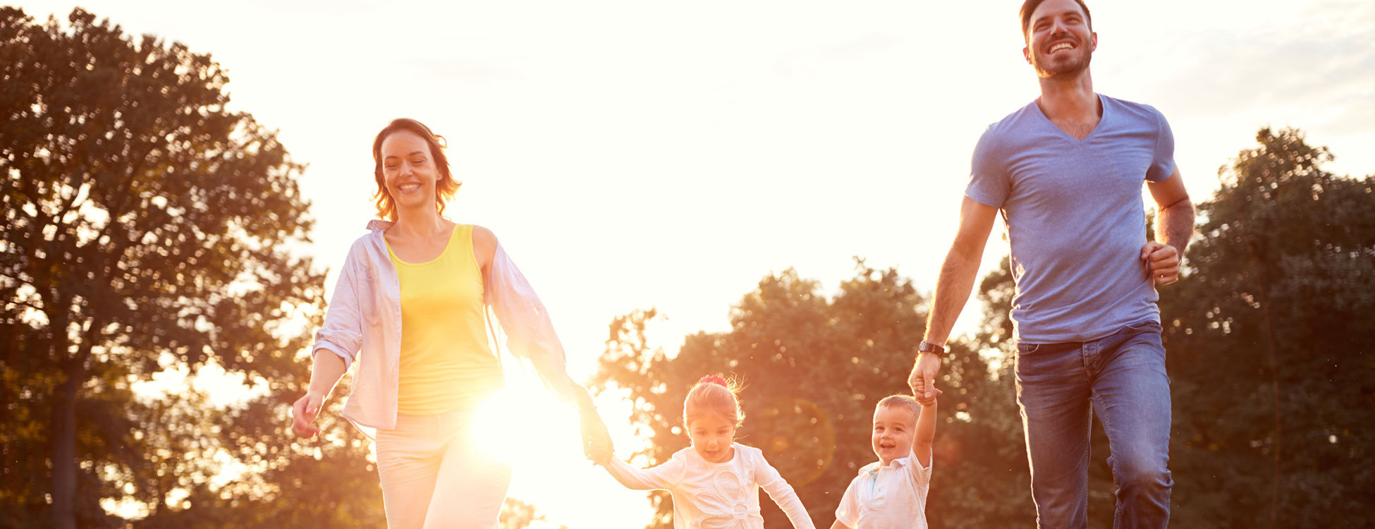 Chiropractor North Brisbane Happy Running Family
