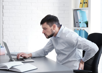 Brisbane Business Man Poor Posture Back Pain